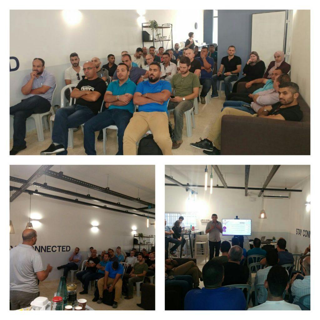 בתמונה רואים את קהל המשתתפים באירוע שהתקיים בנטגב חורה